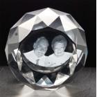 CIR0080 - 3D - Round Faced - 80 x 80 x 35mm