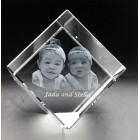 CUB0080 - 3D Photo Cube - Large Size - 80 x 80 x 80mm
