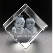 CUB0080 - 3D Photo Cube - Large Size - 80 x 80 x 80mm